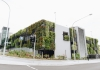 Manly vale carpark with greenery using Junglefy's innovative rotating Breathing Walls.