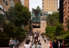 Main campus walkway