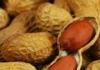 Peanuts inside