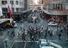 People crossing in Sydney CBD