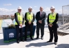 IASB topping out ceremony group