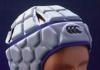 Rugby headgear inside