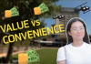 To what extent do you value convenience?