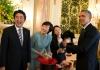 Shinzo Abe and Barak Obama