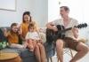 family singing