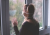 Woman in isolation during coronavirus quarantine