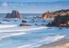 Glasshouse Rocks Beach near Narooma