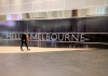Melbourne sign during lockdown