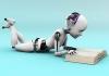 robot reading