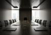 Empty corporate room