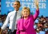 Obama and Hillary