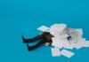 swamped by paperwork