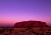 Uluru at sunset 2019