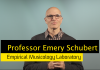 UNSW Professor Emery Schubert