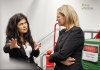Professor Veena Sahajwalla and federal Environment Minister Sussan Ley