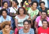 a group of smiling community health volunteers in Papua New Guinea