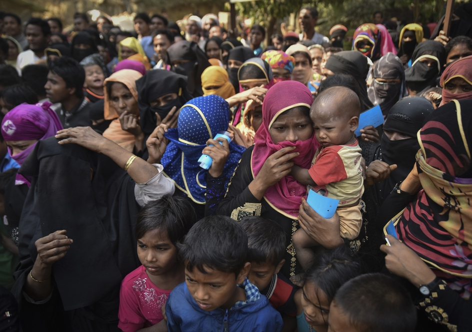 Rohingya refugees in Cox's Bazar, Bangladesh ... more than 650,000 people have fled to Bangladesh since August 2017. Photo: Shutterstock