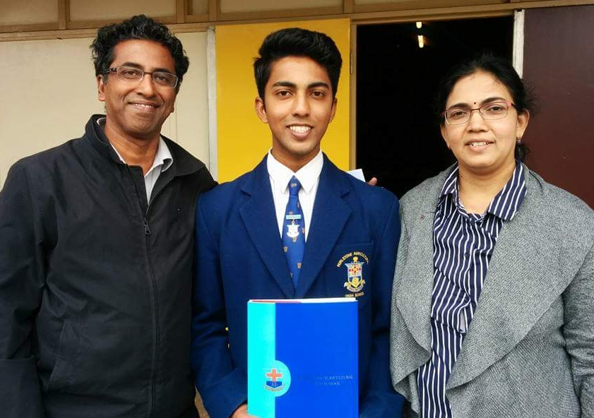 Sanjay Alapakkam, from St Andrews near Campbelltown, has been offered admission to UNSW's undergraduate dual Law degree program.