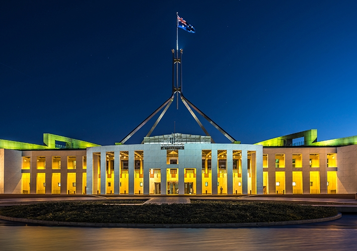 The reporting of, and sanctions against sexual assault at Parliament House lag behind corporate Australia. Photo: Shutterstock