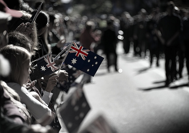 """""""Faces in the parade"""", ANZAC Day 2013 - Sydney parade. Photo: Flickr/Crouchy69"""