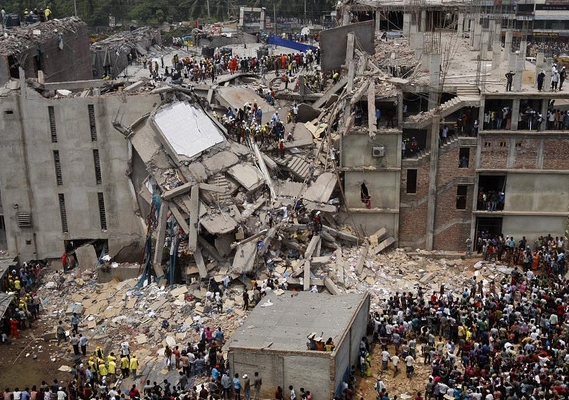 The collapse of Rana Plaza was one of the worst industrial disasters in the world. Photo: Flickr/Rijans