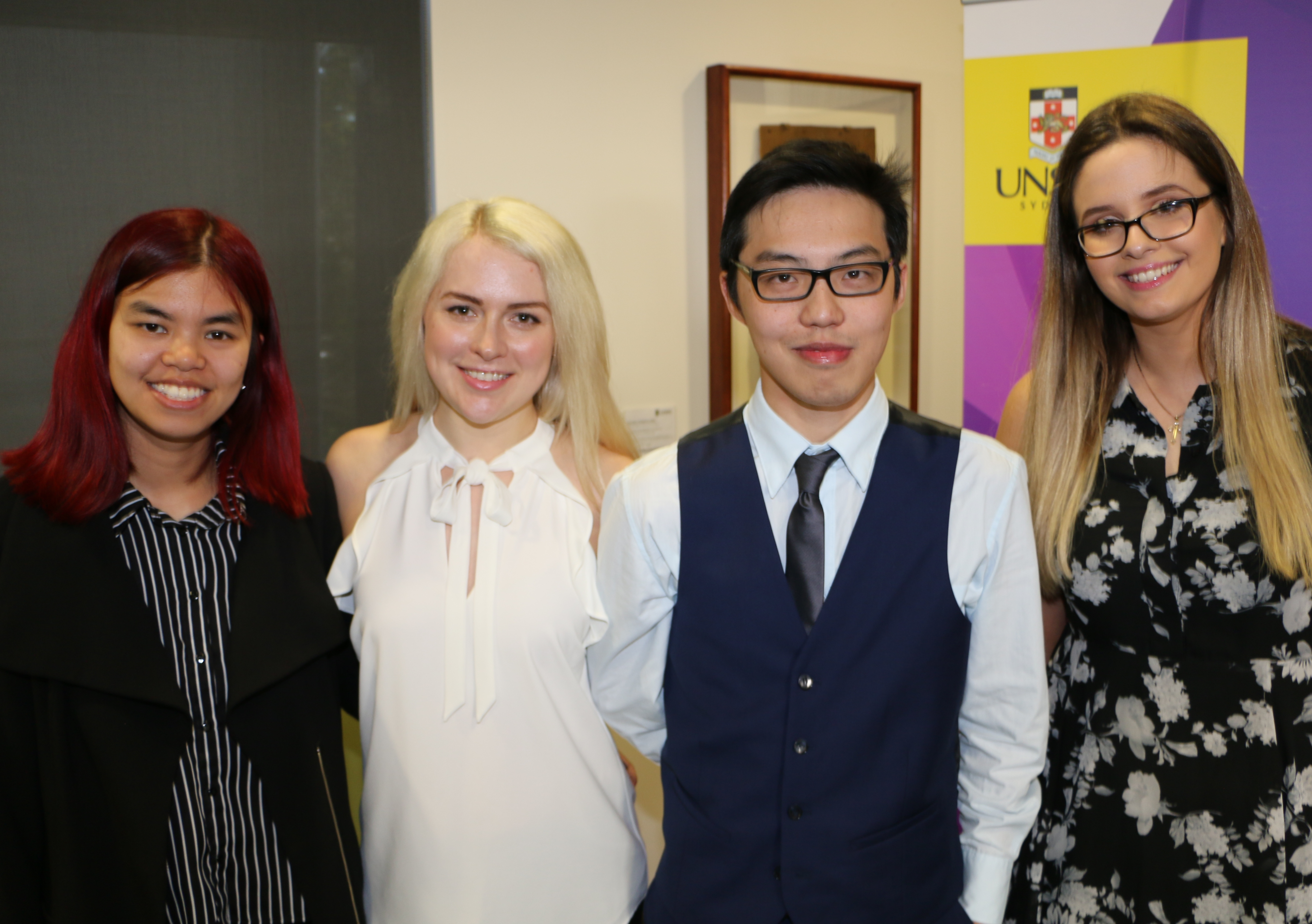 Students Jessica Liang, Clare Cullen, Leon Louie and Jelena Ardalic built a clever app to help clients deal with fines.