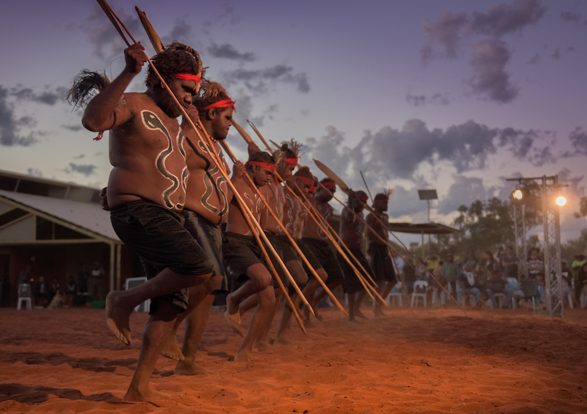 """The Uluru Statement from the Heart recognises the need for """"substantive constitutional recognition over mere symbolism,"""" says Prof Davis. Image: Jimmy Widders Hunt."""