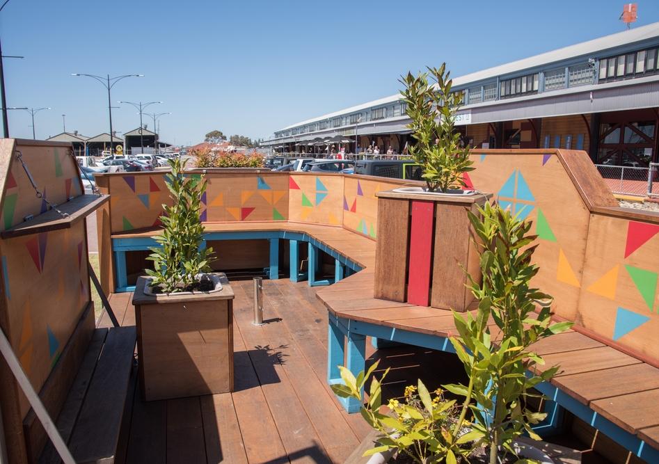 Parklets: returning public space to the public. Photo: Shutterstock