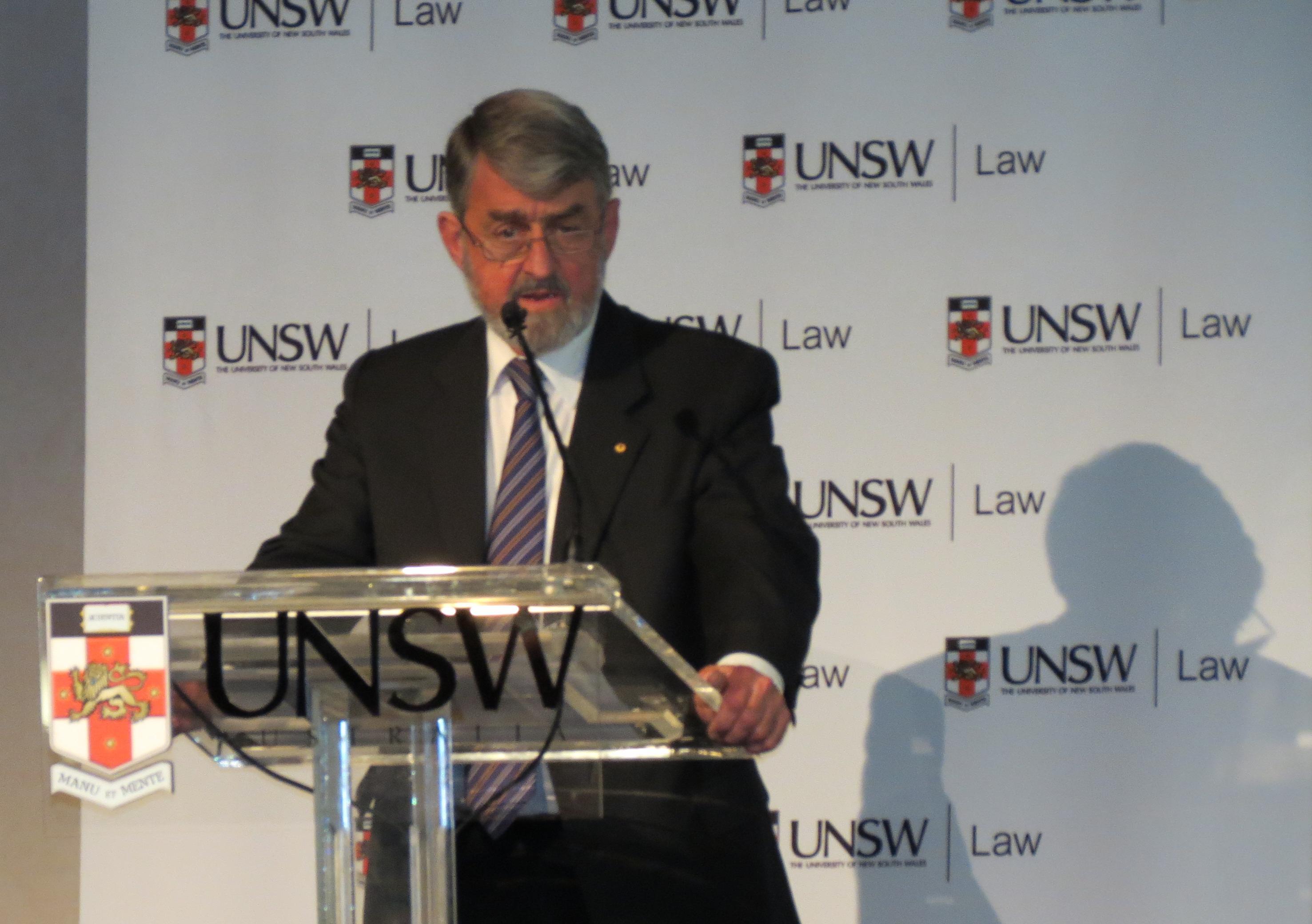 Former NSW Director of Public Prosecutions, Nicholas Cowdery QC