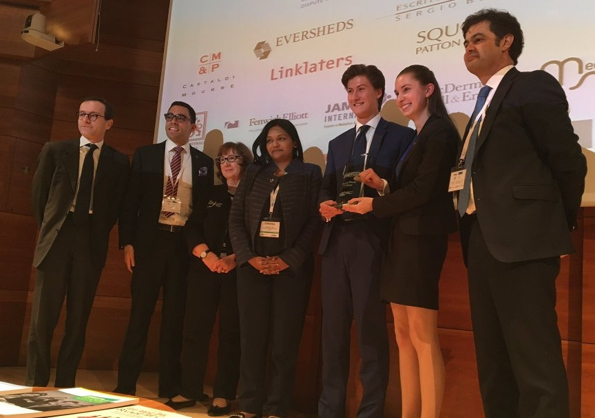 UNSW Law's triumphant ICC International Commercial Mediation Competition world champions