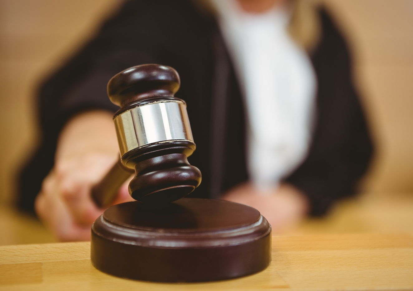 Female judges are more likely to be interrupted. Photo: Shutterstock.