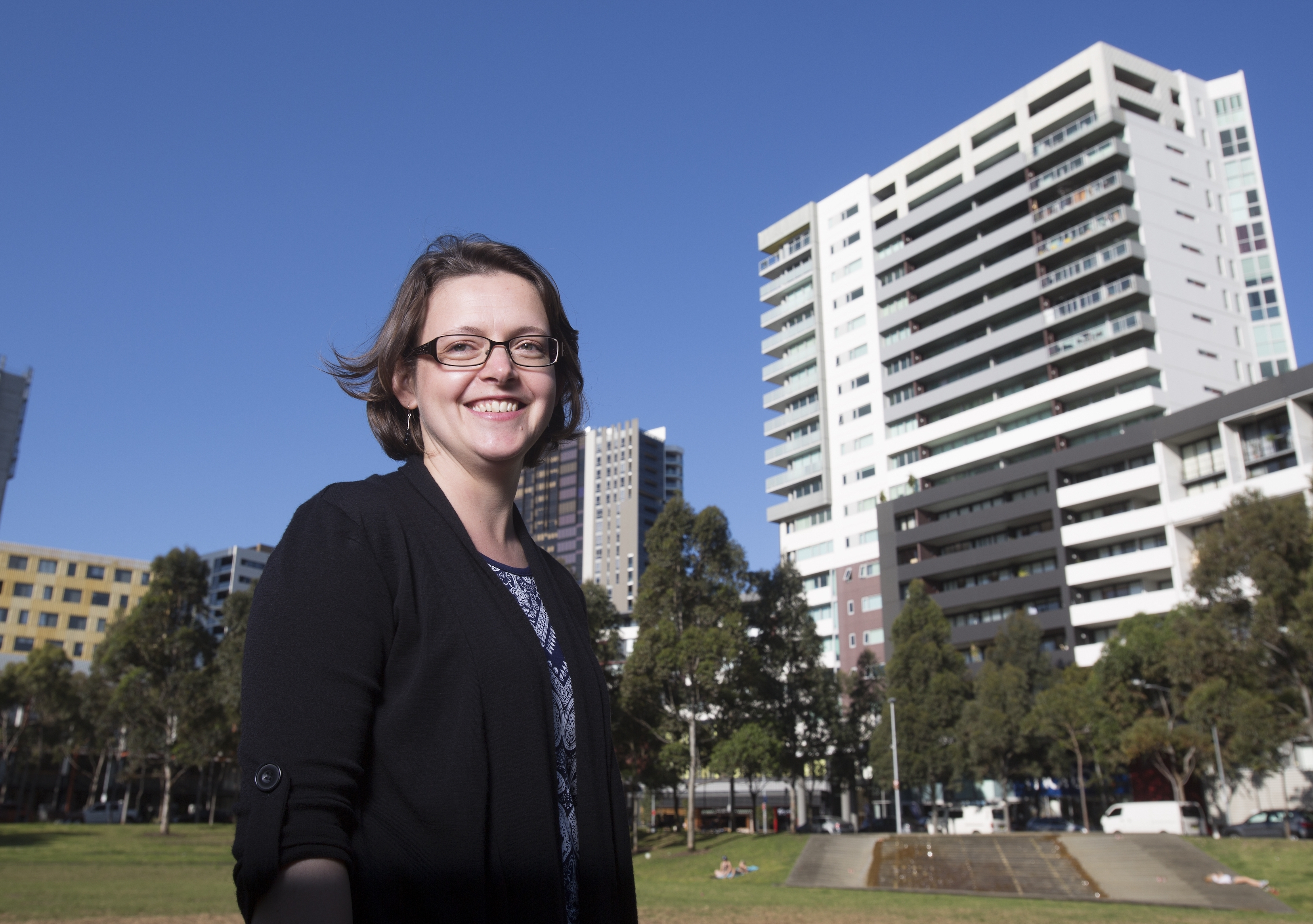 Associate Professor Hazel Easthope from the City Futures Research Centre at UNSW Built Environment