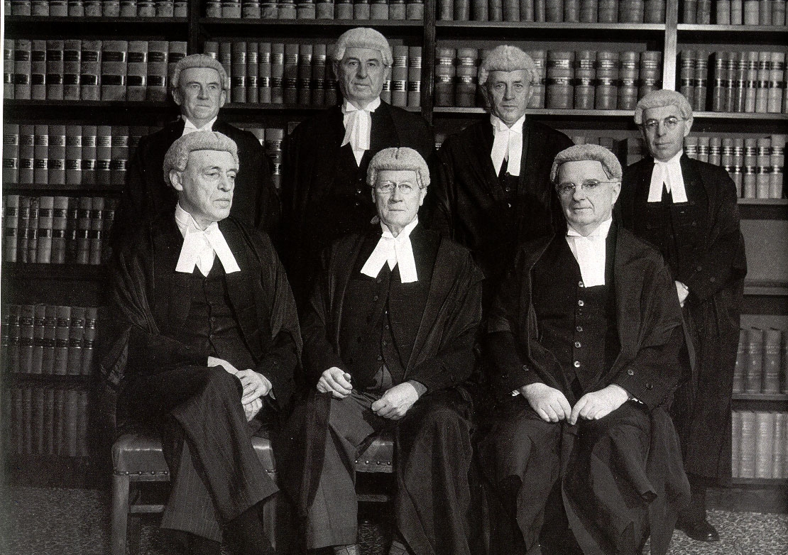 The composition of the High Court of Australia in 1952. Photo: Wikimedia