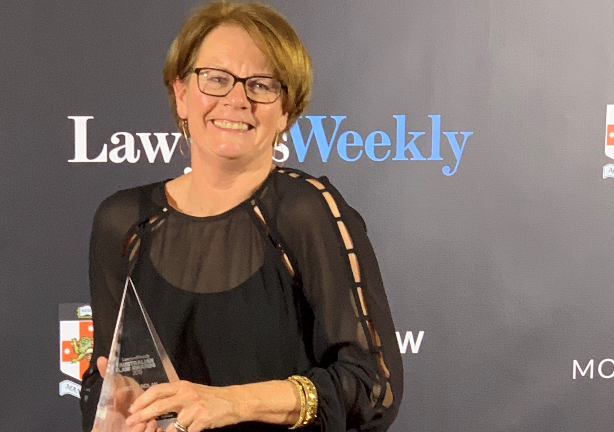 Associate Professor of Law Justine Nolan received the Academic of the Year award at the 19th Annual Lawyers Weekly Australian Law Awards held Friday at the Star in Sydney