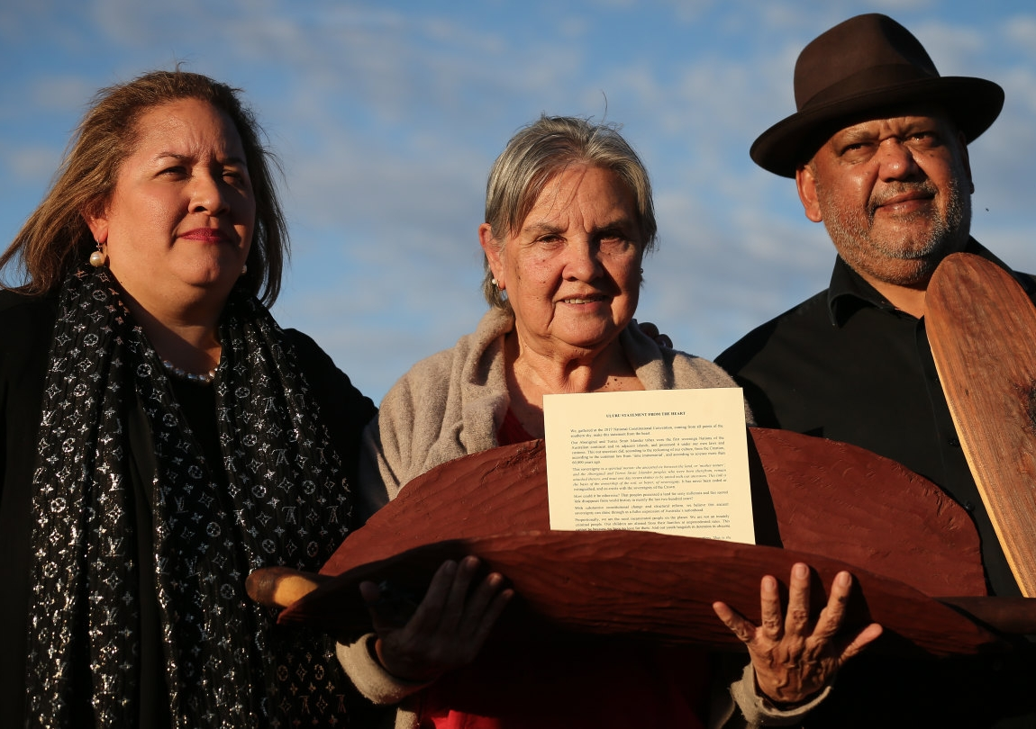 Professor Megan Davis, Pat Anderson and Noel Pearson have worked tirelessly to push towards a referendum to enshrine a First Nations Voice in the constitution.