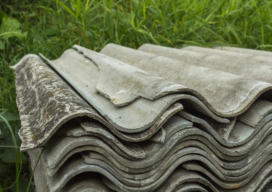 Environmental crimes, such as dumping dangerous roof tiles containing asbestos, are far from victimless. Image from Shutterstock