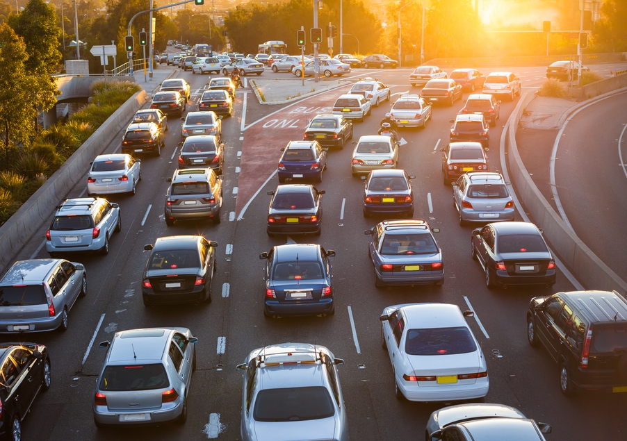 Traffic jams are contagious. Understanding how they spread can help make them less common
