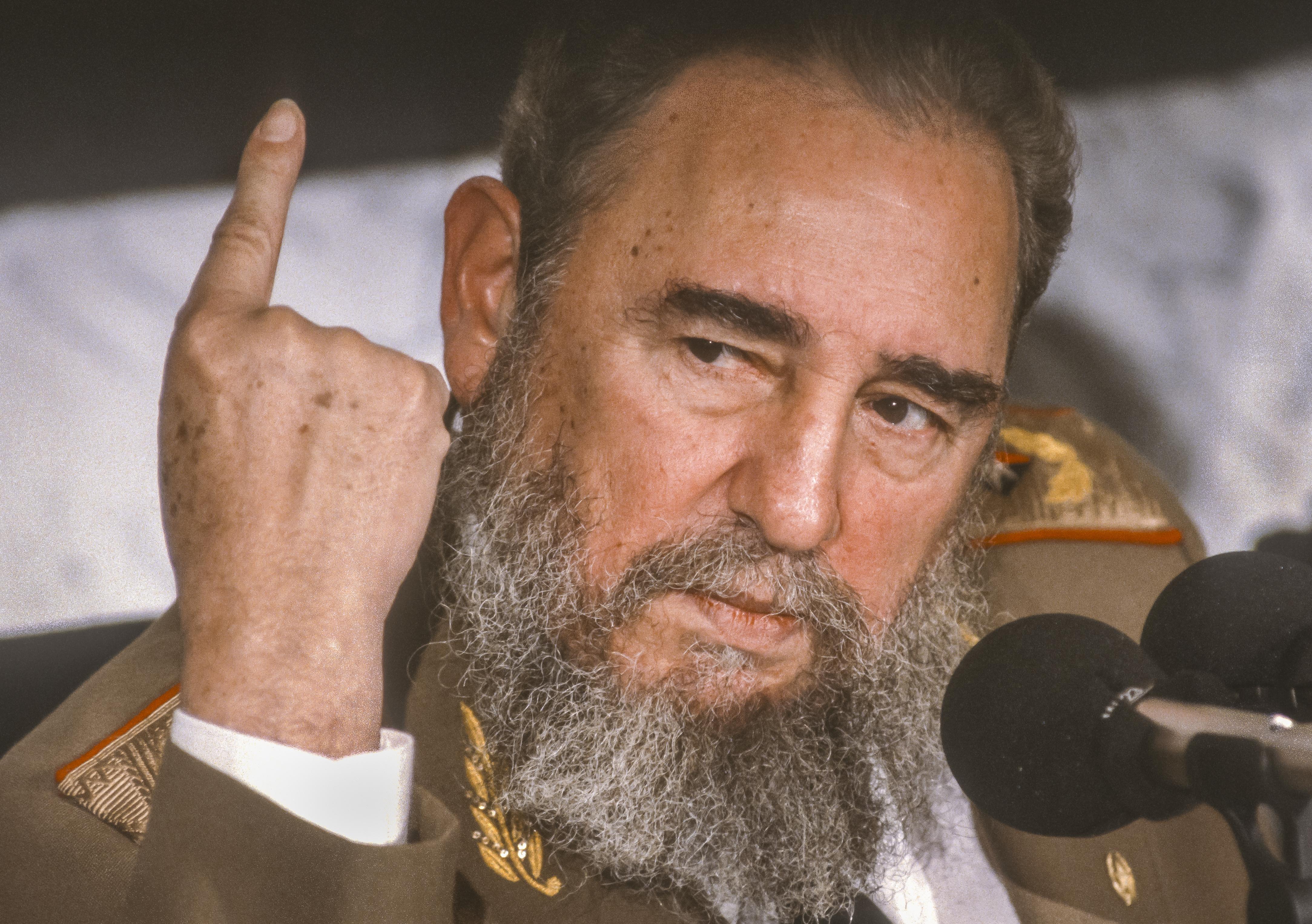 Fidel castro. Photo: Shutterstock
