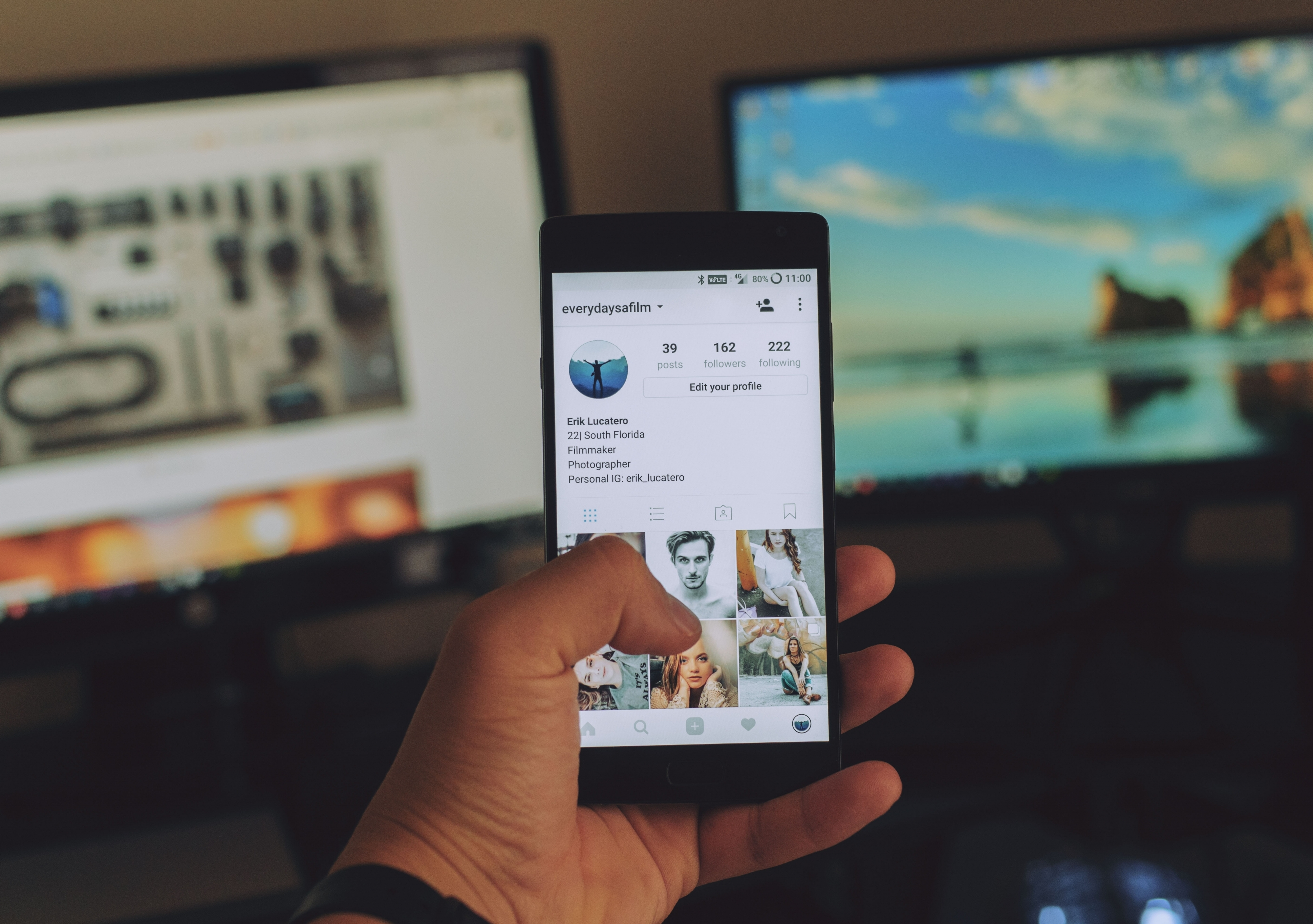 When people upload their images online, their use is regulated by the social media's contract terms. Image: Unsplash