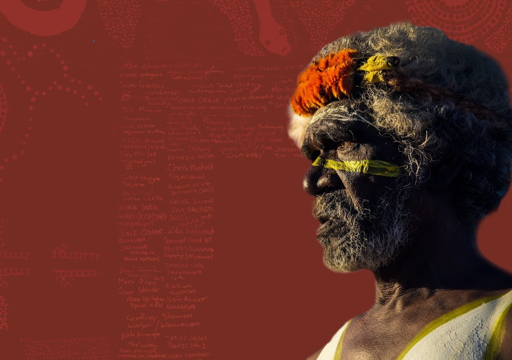 The Uluru Statement from the Heart calls for a Voice to Parliament, enshrined in the constitution. Photo: UNSW Indigenous Law Centre