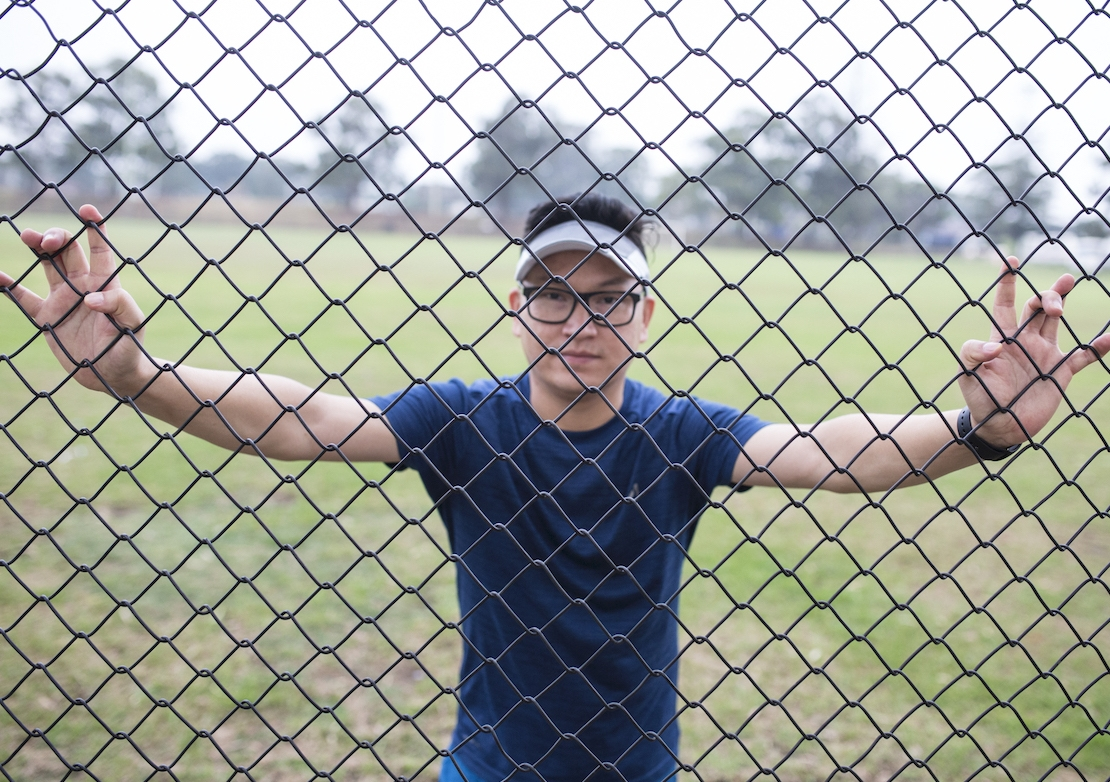 Award-winning student and refugee Zaki Haidari, featured in the 'Temporary' podcast, fled the Taliban as a teenager and now lives in Australia under temporary protection. Photo: Abdul Karim Hekmat.
